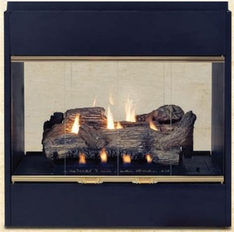 radiant gas fireplace monessen prodigy radiant see thru b vent gas