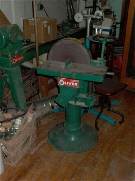 oliver woodworking shop complete   machines