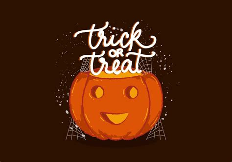 Trick Or Treat by Trick Or Treat Pumpkin Vector
