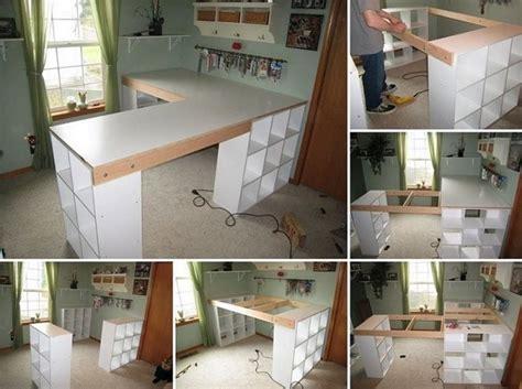 home decorators craft table diy project custom craft desk home design garden
