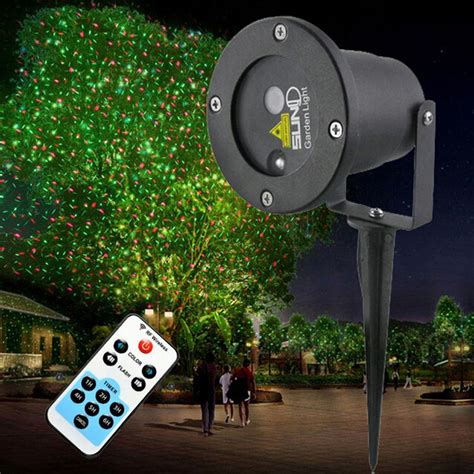2016 waterproof outdoor laser light projector christmas
