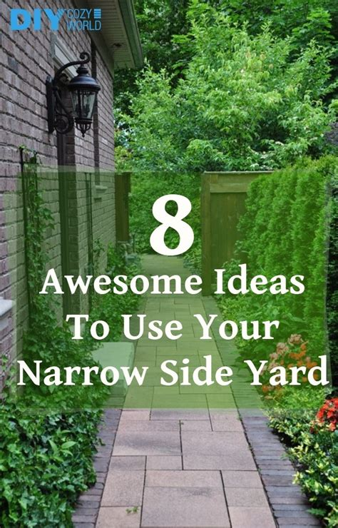 tips to choose small yard in 2017 on yard design ideas 8 awesome ideas to use your narrow side yard