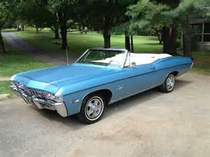 sell used 1968 chevy impala ss396 4sp convertible