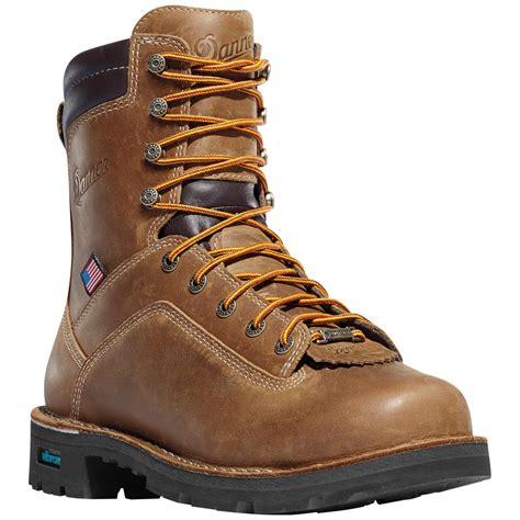 s danner 8 quot quarry usa gtx waterproof work boots