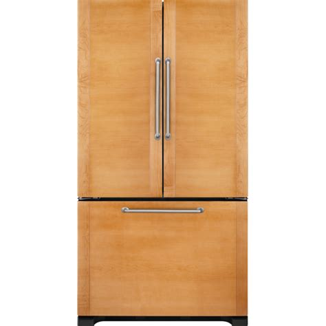 Cabinet Door Refrigerator Floating Glass Black