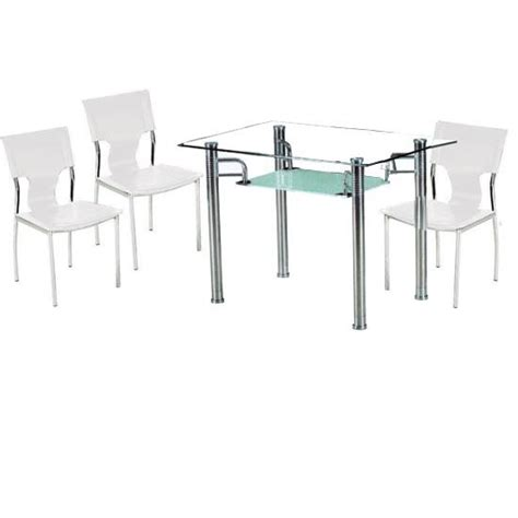 Frosted Glass Dining Table Frosted Glass Dining Table Homehighlight Co Uk
