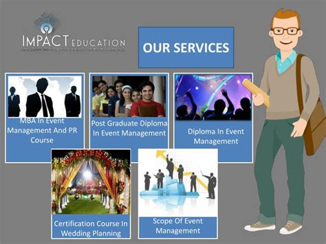 Mba In Event Management by Ppt Event Management Courses In India Powerpoint