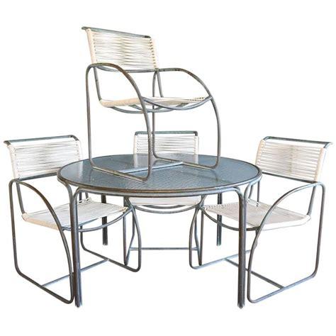 Kipp Stewart For Terra Tubular Bronze Outdoor Dining Set Terra Outdoor Furniture