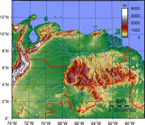 5 themes of geography venezuela southamerica258 venezuela geography