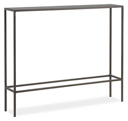 Room And Board Console Table Slim Modern Console Tables In Steel Modern Console Tables Modern Living Room