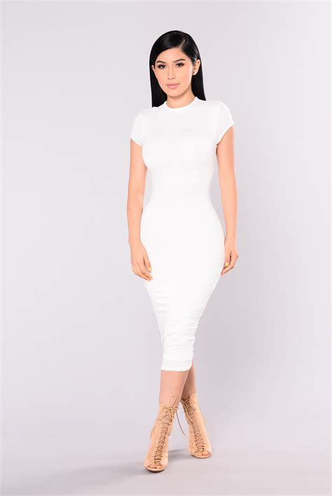Dress Ss39129 Dress White jojo dress white