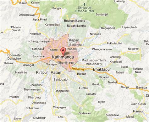 map of lalitpur nepal map kathmandu lalitpur