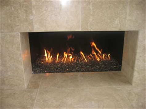 fireglass to glam up the fireplace home wizards