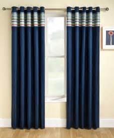 Navy Bedroom Drapes Fashionable And Stylish Navy Curtains Drapery Room Ideas