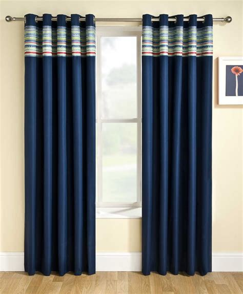 blue and white blackout curtains navy blue and white blackout curtains curtain