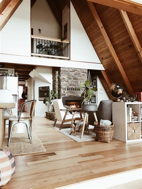 decorate home  feel   cozy cabin modern