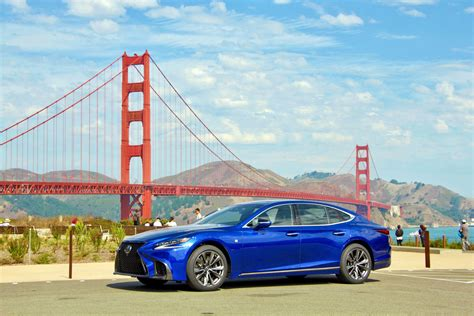 ls plus san francisco 2018 lexus ls 500 review