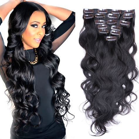shipping 100 human hair curly remy clip in virgin india human hair cheap african americaclip in human hair extensions100g
