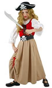 Rock And Roll Decorations Pirates Fille Pirate