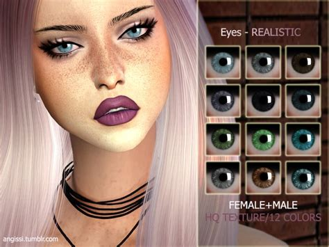 sims 4 realistic eyes realistic eyes by angissi at tsr 187 sims 4 updates