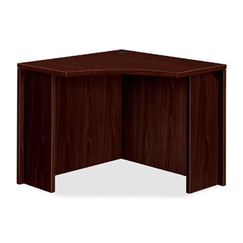 36 Corner Desk Hon Curved Corner Desk 36 Quot W 105810 Executive Desks Worthington Direct