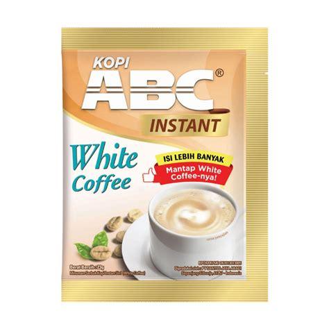Abc White Coffee abc white instant coffee renteng fastanastore