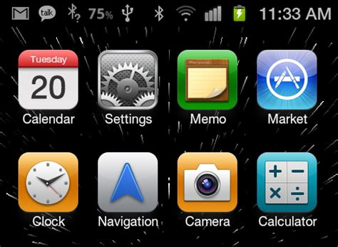 tip samsung galaxy s ii android notification bar icon