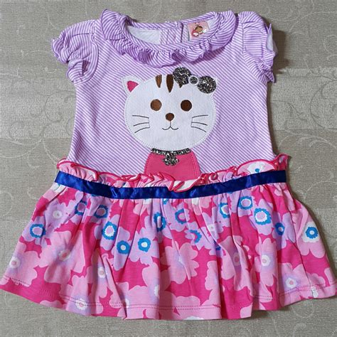 Baju Dress Anak Perempuan Dg 2525 Bunga dress baby murah images