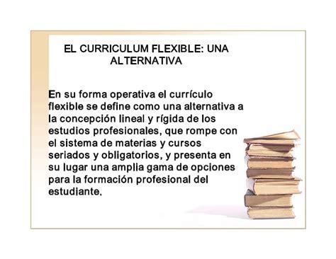 Modelo Curricular Semiflexible Flexibilidad Curricular