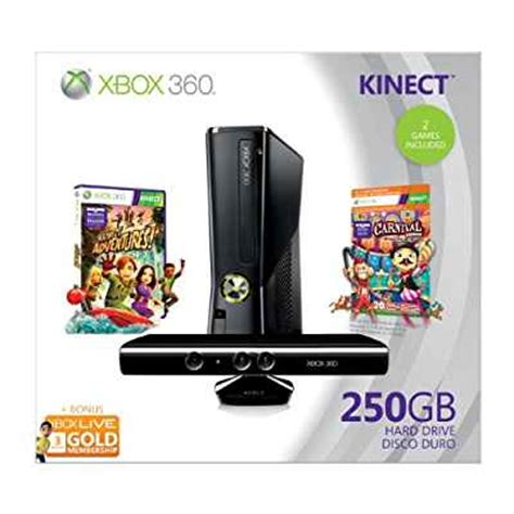 Trade My Gift Card For Amazon - amazon com xbox 360 250gb holiday value bundle with kinect video games