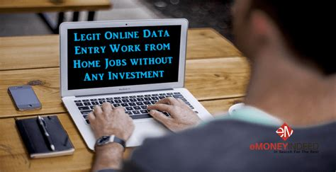 Work From Home Online Data Entry - 10 legit online data entry work from home jobs without investment