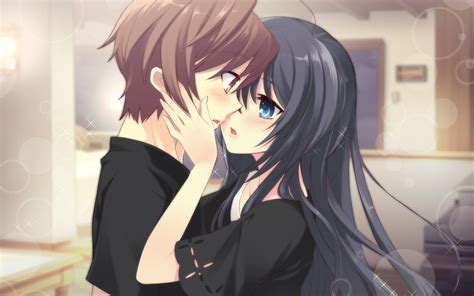 anime kiss anime boy girl love 4k hd wallpaper hd wallpapers