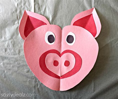 toddler craft pig craft for crafty morning