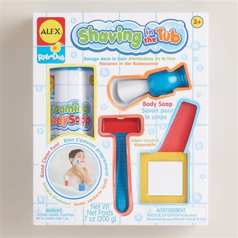 shaving in the bathtub rub a dub shaving in the tub play set world market