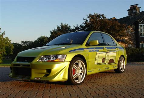 mitsubishi lancer evolution fast and furious 2 fast 2 furious paul walker s mitsubishi evo for sale on