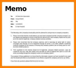 business memos examples 8 example of policy memo emt resume