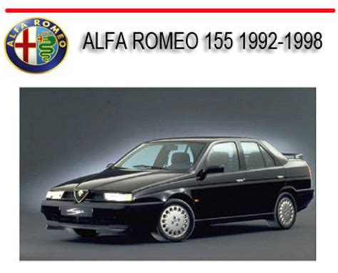how to download repair manuals 1992 alfa romeo spider free book repair manuals alfa romeo 155 1992 1998 repair service manual download manuals