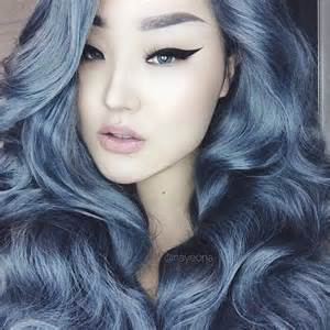 hair colors for 60 gray blue darnell wold powderroomd made my granny hair dreams come