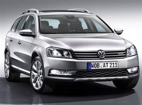 volkswagen south centre volkswagen tests new waters with passat alltrack south