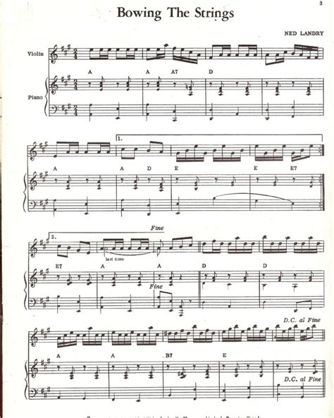 swing fiddle sheet music for bowing the strings discussion forums