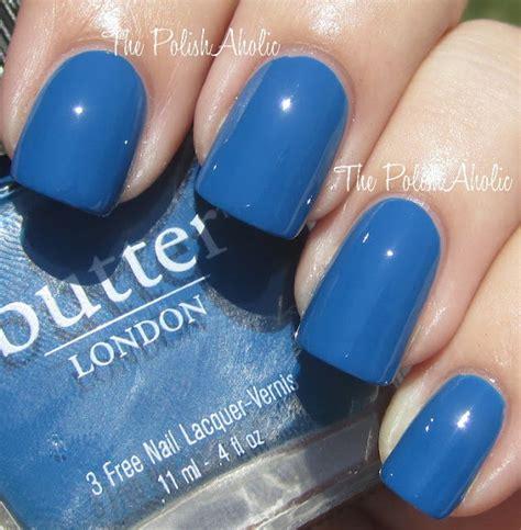butter london nail polish colors butter london blagger lovin the blue nail polish hair
