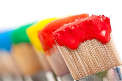 Painting Supplies by The Only Painting Supplies You Really Need Huffpost