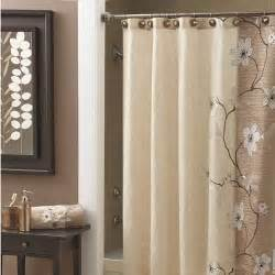 croscill magnolia shower curtain guest bathroom no sew shower curtain tutorial life on