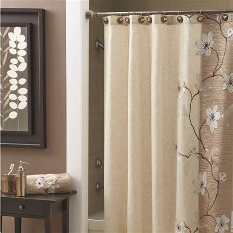 Bathroom Curtains Croscill Magnolia Shower Curtain