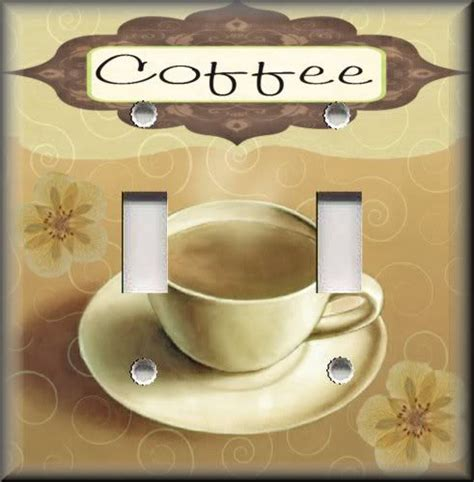 Coffee Home Decor Light Switch Plate Cover Coffee Cafe Kitchen Decor Home Decor Coffee Ebay