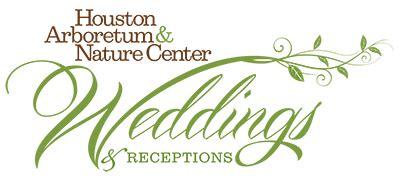 Wedding Reception Logo by Weddings Receptions Houston Arboretum Nature Center