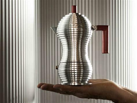 alessi kaffeebereiter kaffeezubereiter aus aluminium pulcina by alessi design
