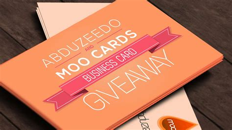 Moo Business Cards Free
