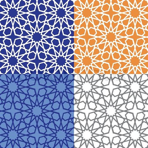 arab traditional pattern seamless pattern vector abstract background arabic islamic