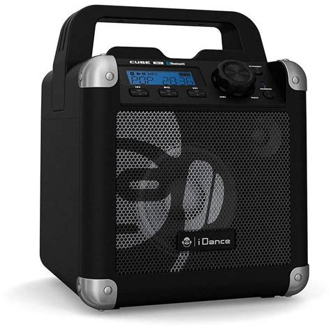 1 iphone 2 bluetooth speakers portable bluetooth speaker idance 50 watt iphone tablet android wireless black ebay